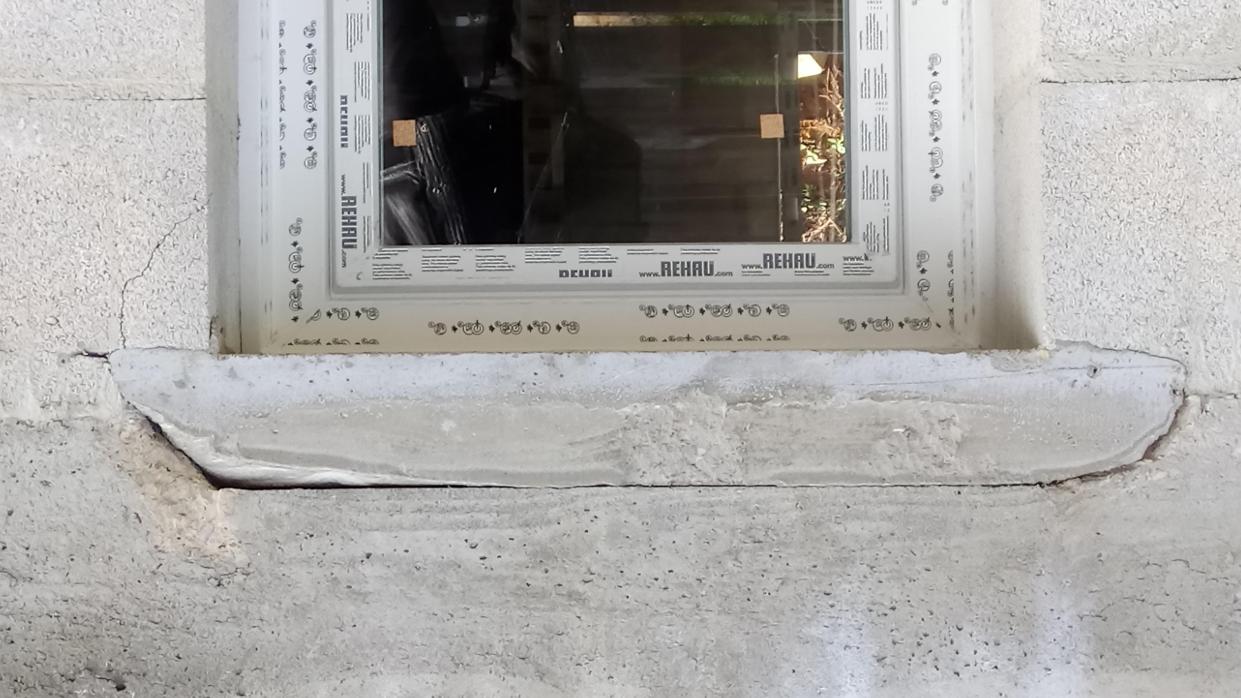 6 appuie de fenêtre