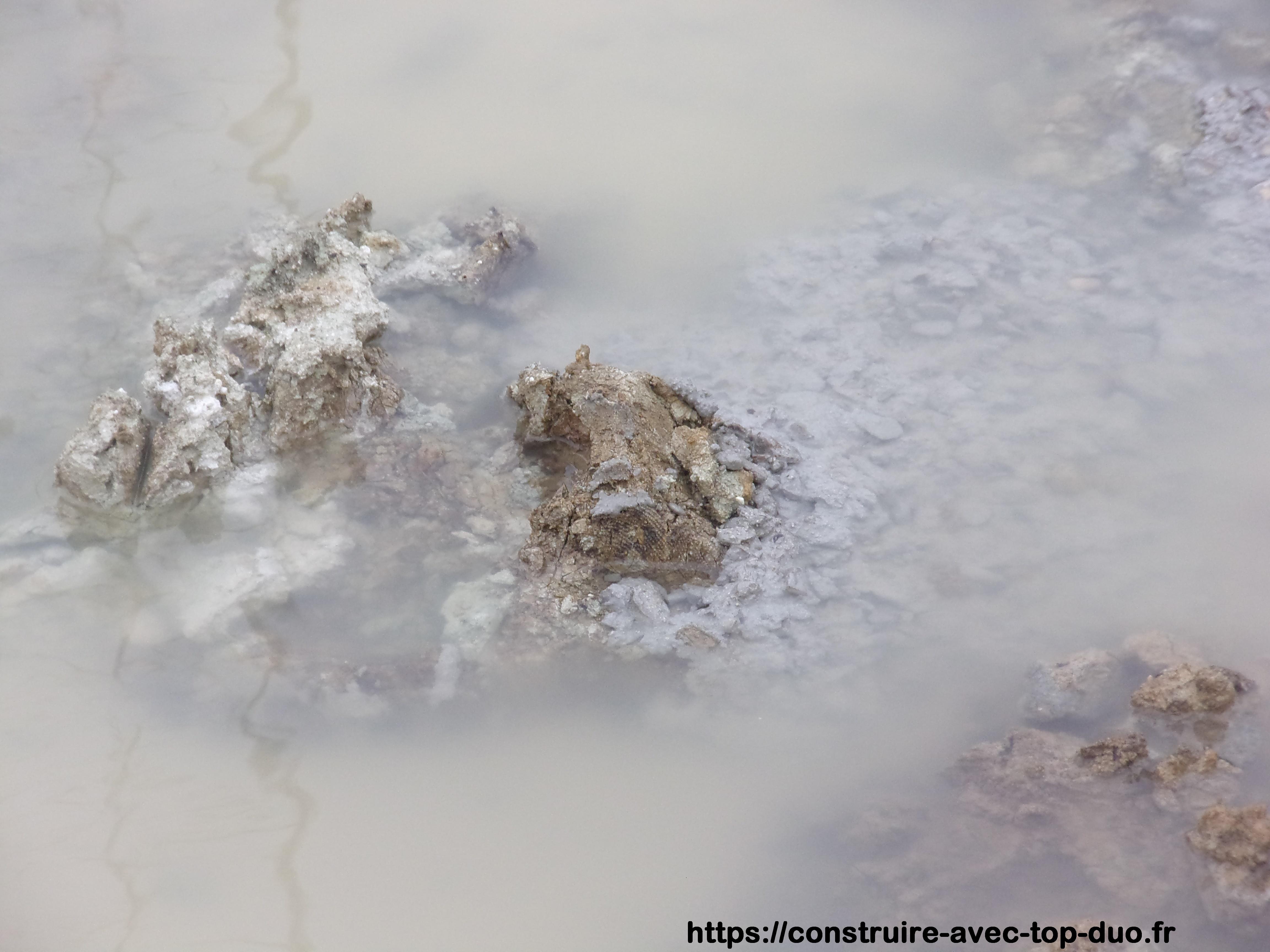 fouilles noyées