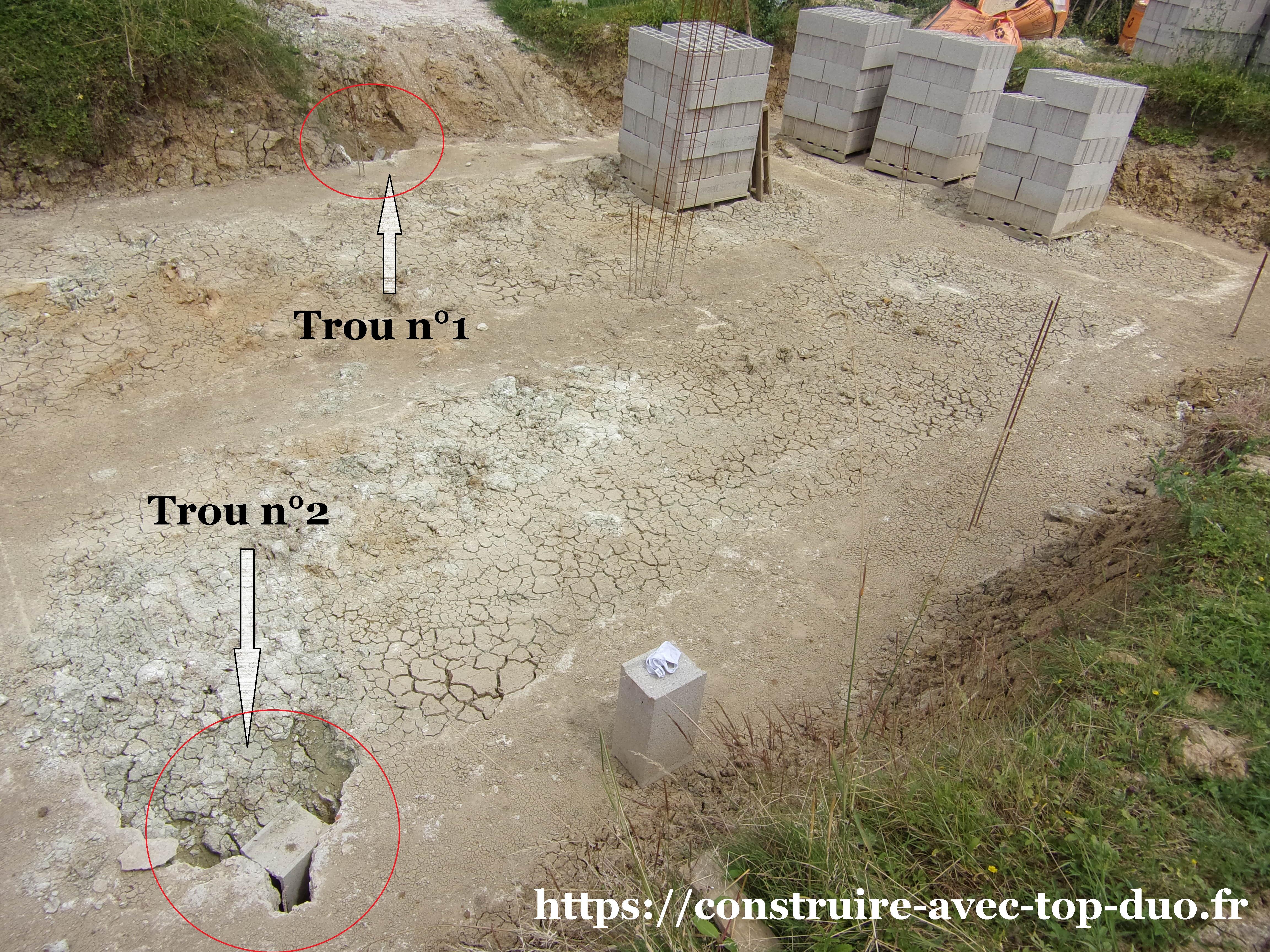 vue d'ensemble fondations