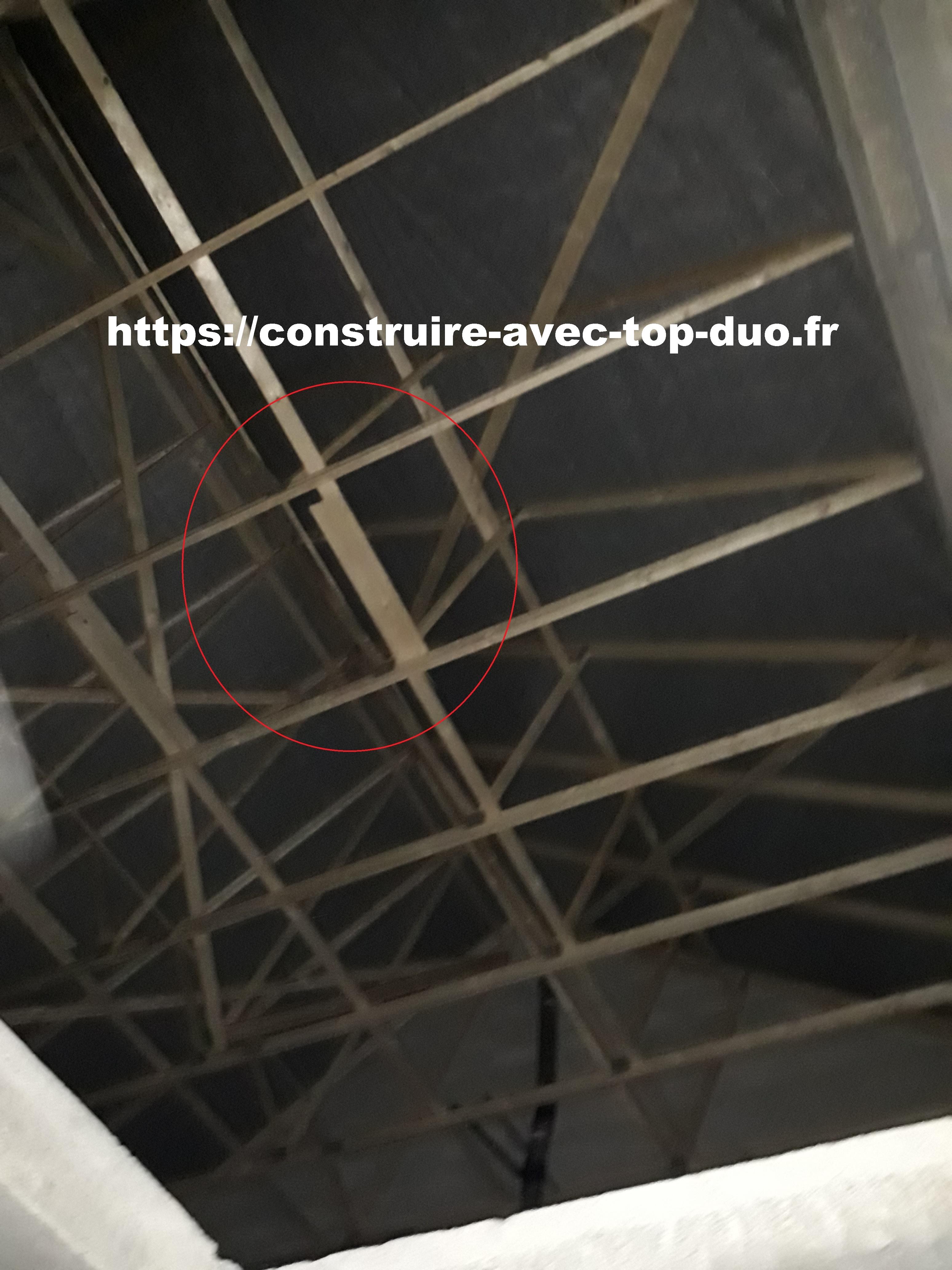 écran sous toiture et charpente