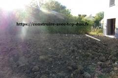 terres saccagée par constructeur TOP DUO