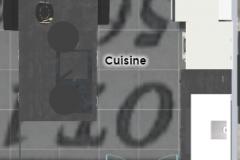 cuisine vue du haut
